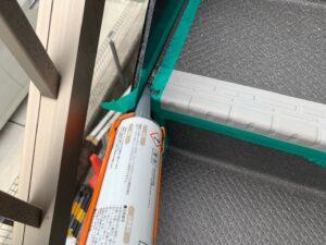 東大阪市 外部階段 社屋 長尺シート工事 DAITAKU ダイタク