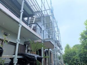 生駒市 戸建て 外壁塗装工事 ダイタク DAITAKU