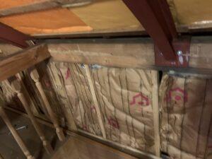 生駒市 戸建て 屋根改修工事 屋根裏 天井貼替え ダイタク DAITAKU 雨漏り