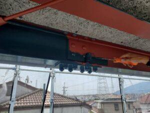 生駒市 戸建て 外壁塗装工事 ダイタク DAITAKU 鉄部塗装