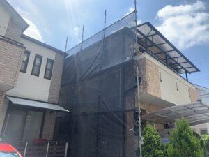 大阪市 戸建て 外壁塗装 カビ取り ダイタク DAITAKU