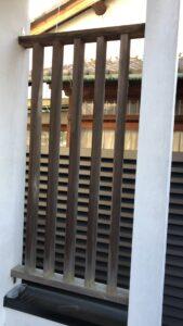 奈良市 戸建て 玄関ドア 木製ドア 鍵穴 塗装工事 DAITAKU ダイタク