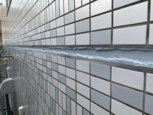 東大阪市 マンション 漏水改善 シーリング工事