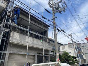 大阪市 戸建て 外壁塗装工事 DAITAKU ダイタク