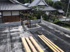 生駒市 戸建て 屋上防水工事 DAITAKU ダイタク