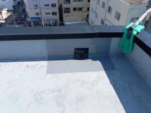大阪市 マンション 外壁塗装 改修用ドレンの取付 ダイタク DAITAKU
