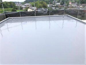 生駒市 戸建て 外壁塗装工事 ダイタク DAITAKU バルコニー 防水工事