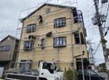 生駒市 外壁補修工事 仮設足場工事 ダイタク DAITAKU