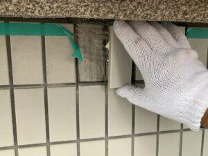 大阪市 医院 外壁塗装 屋根塗装 タイル補修 ダイタク DAITAKU シール打設