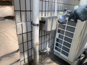 大阪市 医院 外壁塗装 屋根塗装 タイル補修 ダイタク DAITAKU タイル洗い