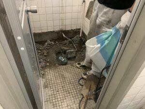 大阪市 マンション一階 テナント 内装工事 トイレ リフォーム工事 ダイタク DAITAKU