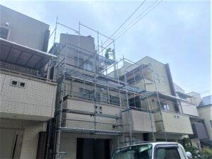東大阪市 戸建て 外壁塗装工事 ダイタク DAITAKU