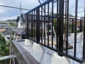 生駒市 戸建て バルコニー改修工事 防水工事 DAITAKU ダイタク