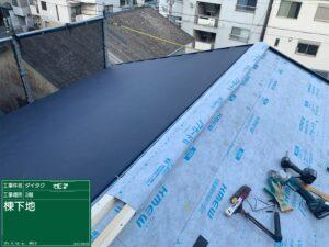 大阪市 戸建て 外壁塗装 屋根改修 カバー工法 工事 ダイタク DAITAKU
