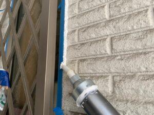 東大阪市 戸建て 外壁塗装工事 シーリング ダイタク DAITAKU