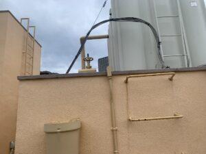 大阪市 某ビル 高架水槽 修繕工事 DAITAKU ダイタク